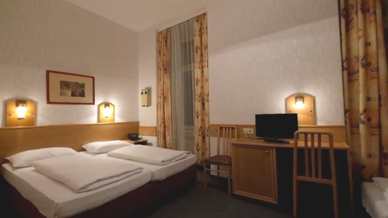 Camera da letto multipla - Albergo Admiral a Vienna